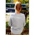 Világoskék pulóver