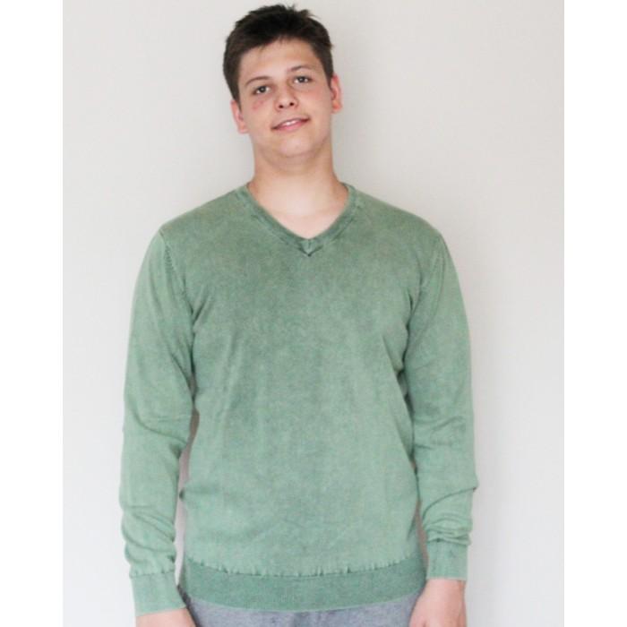 20ceebd650 ... zöld színű kötött pulóver